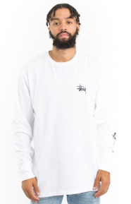 Wave Dragon L/S Shirt - White