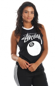 8 Ball Stamp Raglan Tank Top