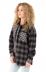 Cashed Hooded Flannel