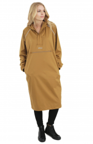 Ceremony Anorak Dress - Brown