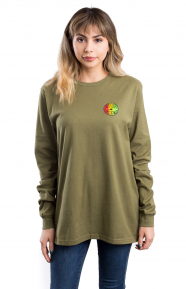 Design Bubble L/S Shirt - Olive