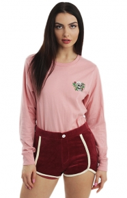 Hippie Skull L/S Shirt - Dusty Rose
