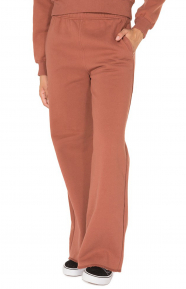 Hours Wide Leg Sweatpant - Rust