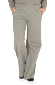 Hours Wide Leg Sweatpant - Sage