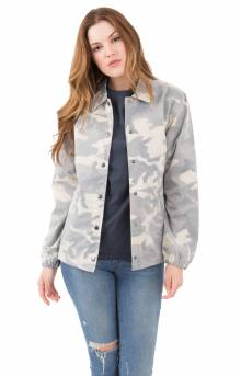 Lenny Translucent Coach Jacket - Camo