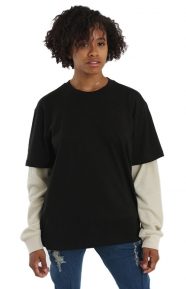 Lithium Twofer L/S Shirt - Black