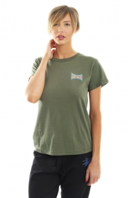 Old Skool Cuff T-Shirt - Olive