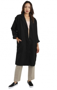 Pico Car Coat - Black