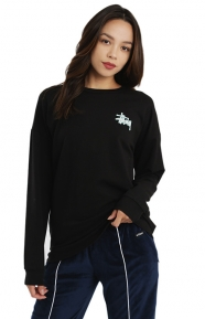 Puff Stock Crewneck - Black