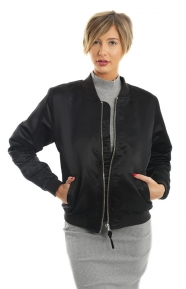 Union Bomber Jacket - Black