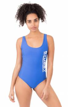 Wells One PC Swim Suit - Royal Blue