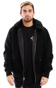 Stussy Wool B-10 Jacket - Black