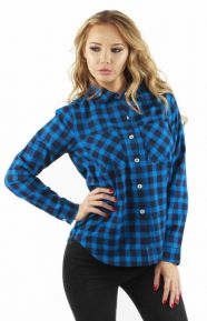 World Jack Women's Shirt - Blue