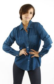 World Women's Denim Shirt