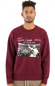 Anti-Hero Pope Crewneck - Burgundy
