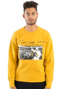 Anti-Hero Pope Crewneck - Mustard
