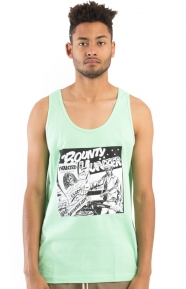 Barrington Levy Jah Life Bounty Hunter Tank Top - Acid