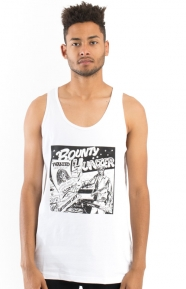 Barrington Levy Jah Life Bounty Hunter Tank Top - White