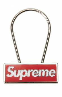 Clip Keychain - Red