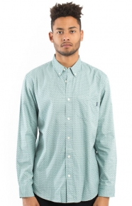 Deco L/S Button-Up Shirt - Sea Green