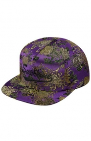 Eastern Floral Snap-Back Hat - Purple