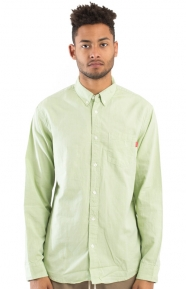 Lightweight L/S Oxford Button-Up Shirt - Seafoam