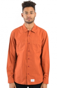 L/S Work Shirt - Rust