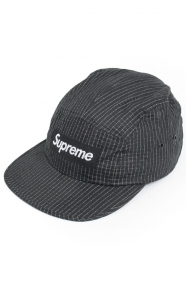 Overdyed Ripstop Camp Cap - Black