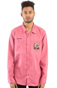 Zapata Work Shirt - Rose