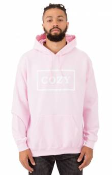 Cozier Box Pullover Hoodie - Pink
