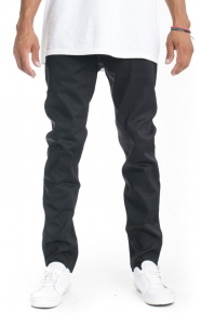 The Hundreds Clothing, (104070) Black Out Skinny Fit Jeans - Black