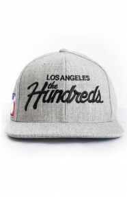 The Hundreds Clothing, F16 Forever Team Snap-Back Hat - Grey