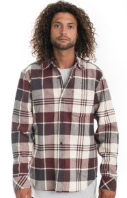 The Hundreds Clothing, Hoover Button-Up Shirt - Burgundy
