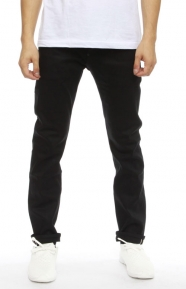 (T15F104069) Black Out Straight Pants