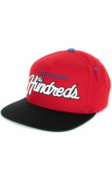 Team Two Snap-Back Hat - Red