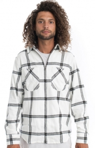 The Hundreds Clothing, Wellen Button-Up Shirt - Off White