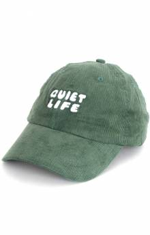 ce8a5d69515 The Quiet Life Kenney Cord Dad Hat - Olive
