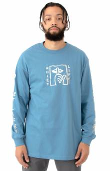 The Quiet Life, Shatter L/S Shirt - Slate