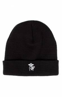 cfe3f264cf9 The Quiet Life Shhh Beanie - Black