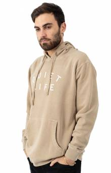 Standard Pigment Dyed Pullover Hoodie - Sand