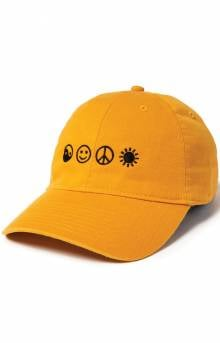 World Peace Dad Hat - Gold