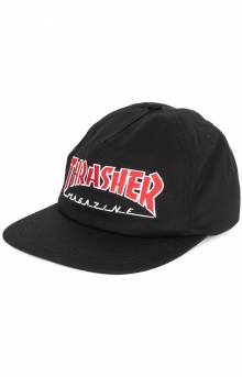 Outline Snap-Back Hat - Black