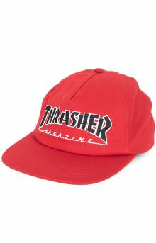 Outline Snap-Back Hat - Red