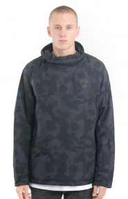 Insulated Pullover Hoodie - Black