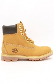 (TB010361) Women's 6 in. Premium Boot - Wheat