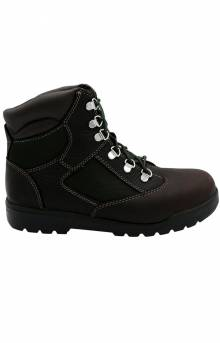 (TB0A1NLF) 6 Inch Waterproof Boot - Black/Green
