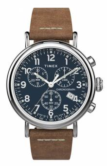 (TW2T68900VQ ) Standard Chronograph 41mm Leather Strap Watch