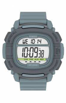 (TW5M35800VQ) Timex Command™ 47mm Silicone Strap Watch - Blue/Grey