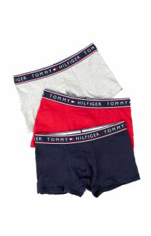 (09T3351-608) Essential Cotton Stretch Trunks - Mahogany