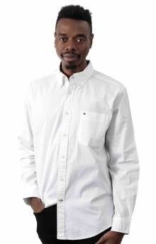 Classic Fit Essential Stretch Shirt - Bright White